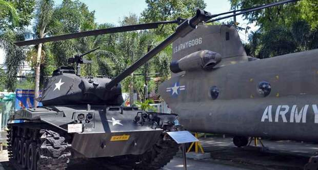Военные трофеи от спецназа. Как добывалась боевая техника США во время Вьетнамской войны?