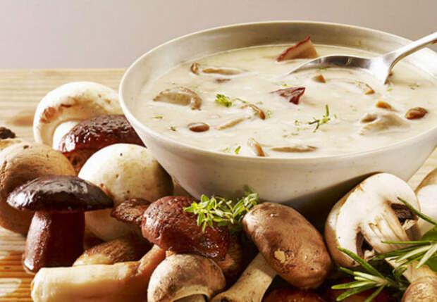 Грибная юшка: суп из Карпат