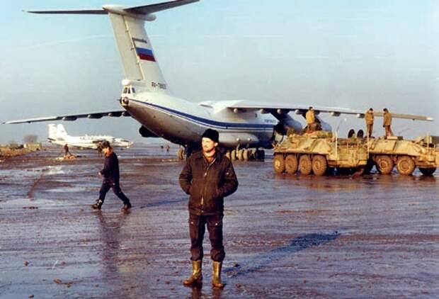 самолет ил-76, летающий госпиталь, ввс ссср