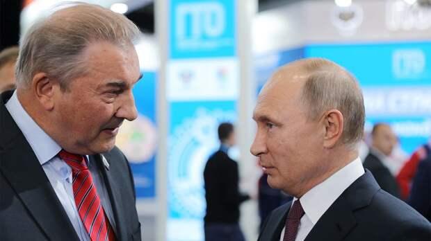 Третьяк признался, что решил стать президентом ФХР после разговора с Путиным