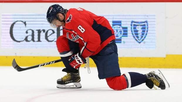 Овечкин вышел на 2-е место в истории НХЛ по голам в большинстве: видео