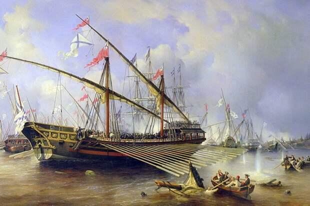 300-летию победы русского флота в Гренгамском сражении