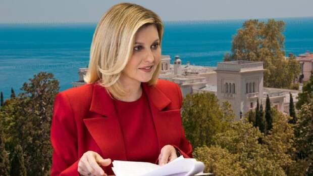 Жена Зеленского не спешит отказываться от элитной недвижимости в Крыму