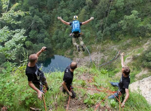 ropejumping30 Прыжок в Сухое озеро