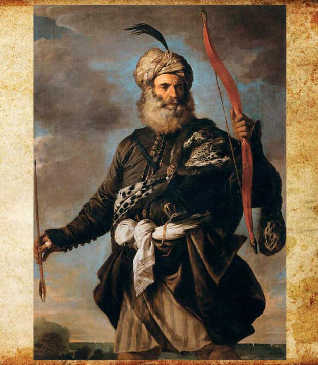 Пьер Франческо Мола Пират-иноверец с луком. Изображение взято из открытых источников.