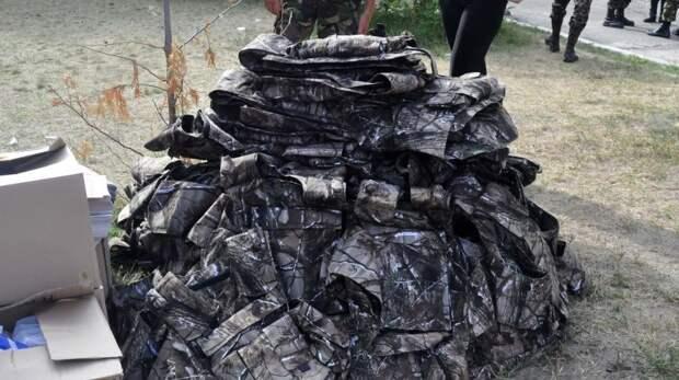 Украинские бронежилеты под дождём превращались в картон