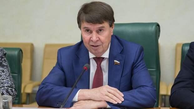 Член комитета Совета Федерации по международным делам Сергей Цеков