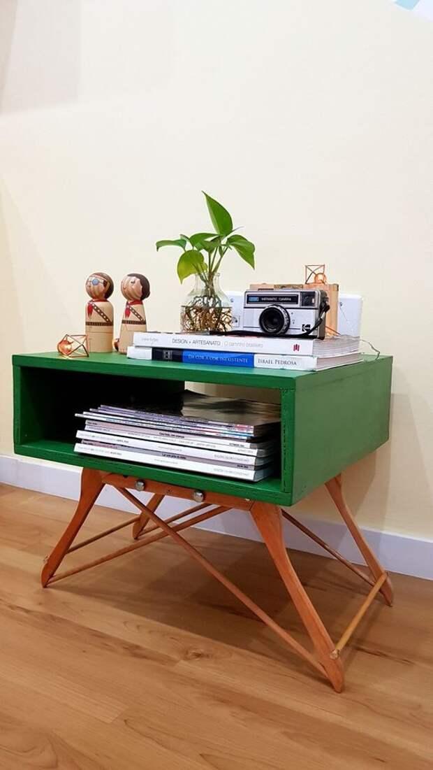 Мебель из вешалок плечиков (подборка)