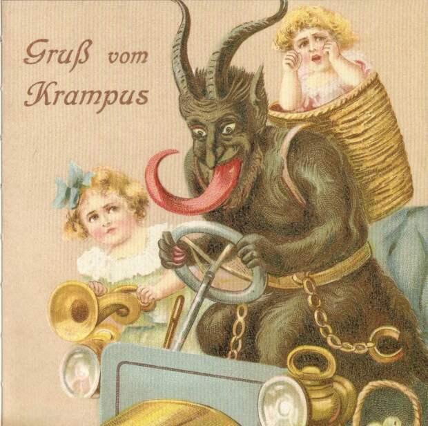 9 жутких и упоротых рождественских открыток 19 века