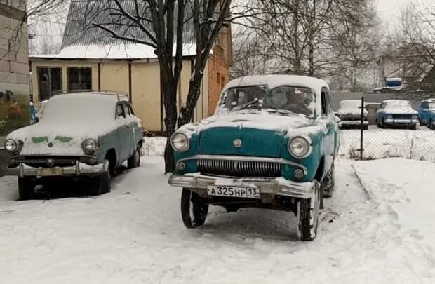 Старый полноприводный Москвич – 410 показал чудеса выносливости