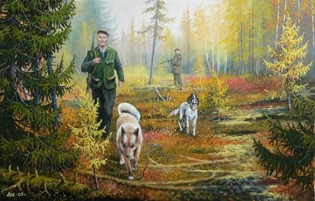 Художник Андрей Лях