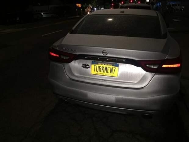 Наши повсюду! «Русские» номера в США авто, автомобили, машины, номера, сша