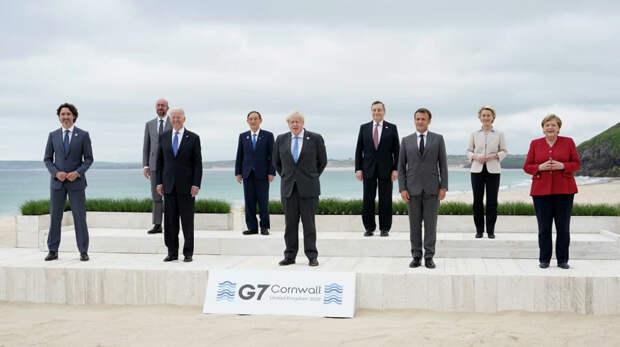 Саммит G7 в Великобритании завершён: краткие итоги