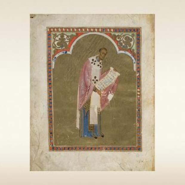 Служебник Варлаама Хутынского. Первая четверть 13 века