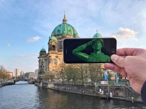 Необычное вобычном: 30 забавных фотоколлажей, сделанных спомощью смартфона