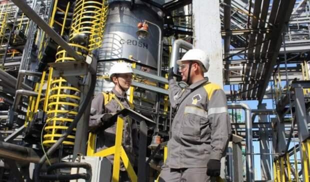 НПК «Роснефти» переходят насвои катализаторы