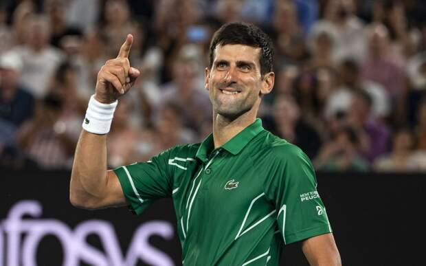 Джокович обыграл Тиафо и вышел в 3-й круг Australian Open. Теннисисты сделали полсотни эйсов на двоих