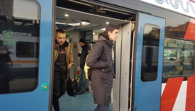 Станцией МЦД‑2 Волоколамская воспользовались свыше 2 тыс человек за первый день работы