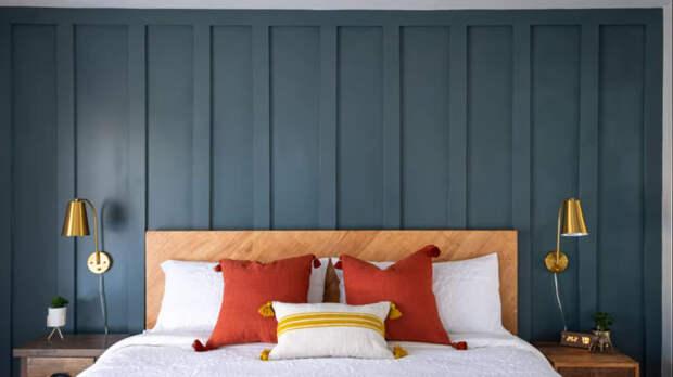 Результат удивит вас своей простотой: стильный и простой декор стены