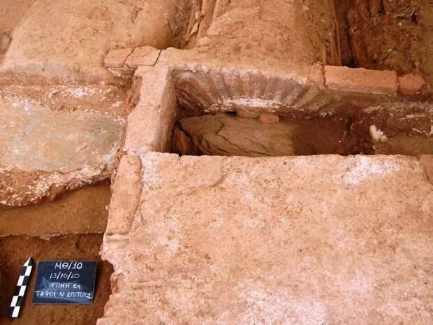 В Салониках обнаружено погребение воина-германца, служившего Римской империи