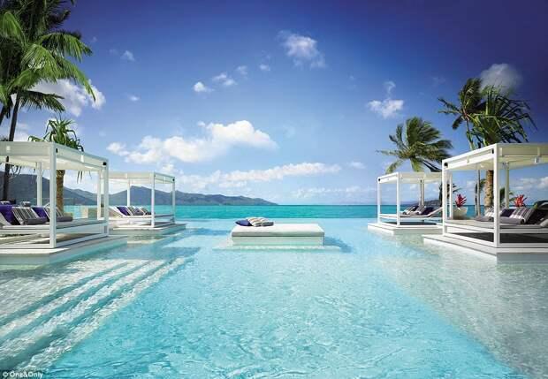 Для богатых и знаменитых: как выглядит пятизвёздочный отдых на курорте One and Only Hayman Island на Большом Барьерном рифе