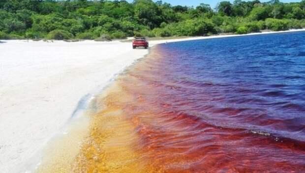 Освежись! Необычное кока-кола озеро в Бразилии привлекает туристов со всегомира