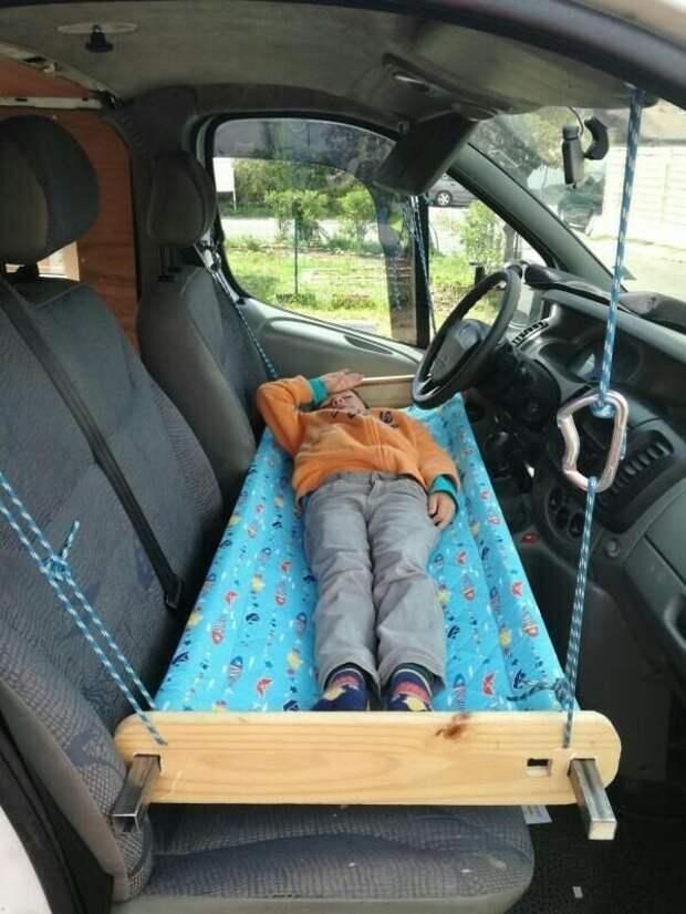 3. В больших авто есть множество вариантов организовать спальное место авто, девайсы для авто, крутые вещи, машина, товары