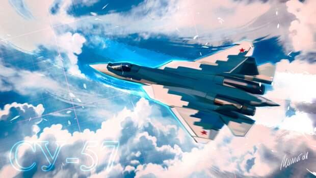 Воздушная часть парада Победы с участием Су-57 вызвала восторг у американцев