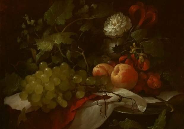 картина персики
