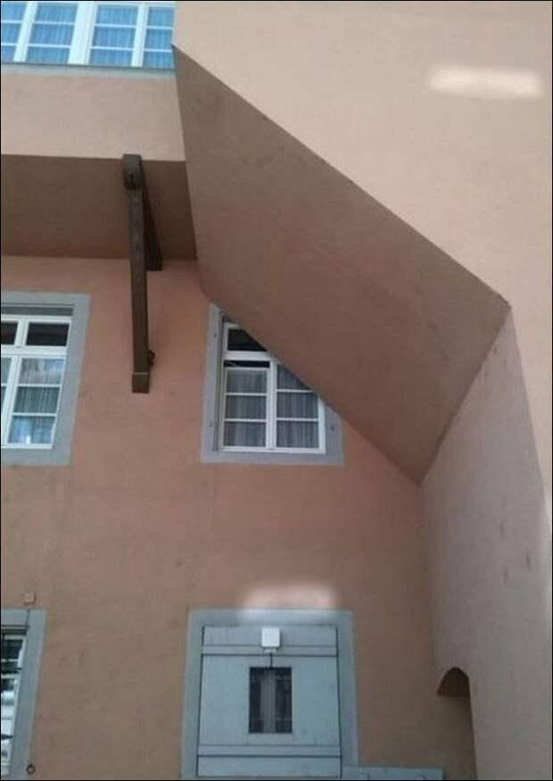 Я строитель, я так вижу: 14 очень странных строительных решений