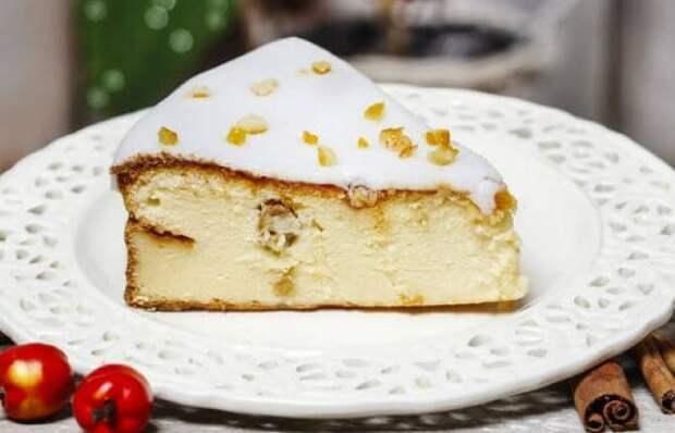 Вкуснейший чизкейк с сыром рикотта и изюмом