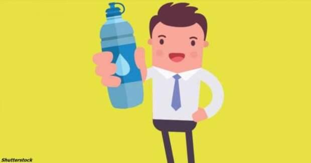 Я целый месяц пил только воду и ничего больше! Вот 10 вещей, которые я узнал (4 фото)