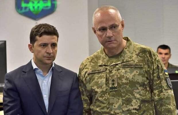 Заговор украинских военных против Зеленского
