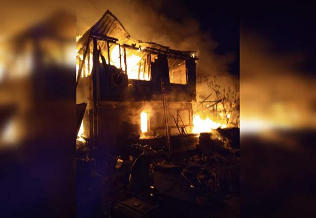 Следком расследует смерть ребенка на пожаре в Севастополе