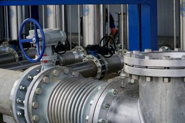 Симферополь начал получать воду из Бештерек-Зуйского водозабора