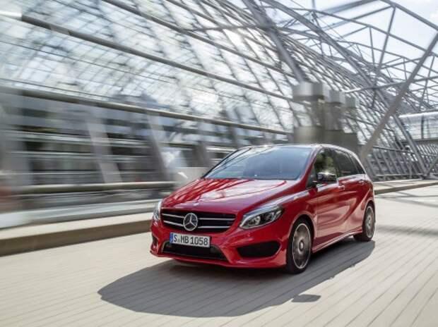 Mercedes в декабре привезет в Россию обновленный B-класс