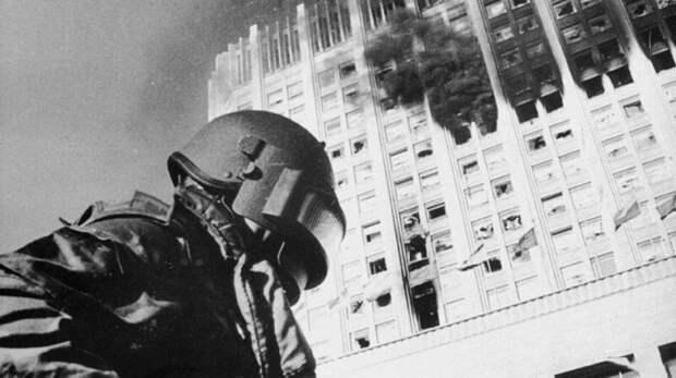 Штурм Белого Дома, 1993 год