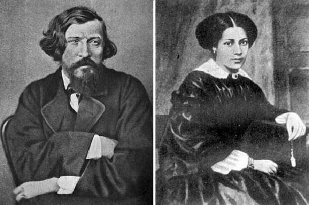 Ольга и Николай Чернышевские.
