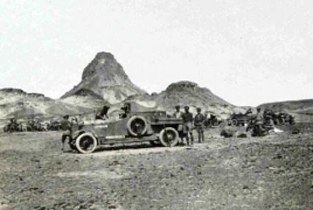 В иорданской пустыне археологи обнаружили лагерь легендарного Лоуренса Аравийского