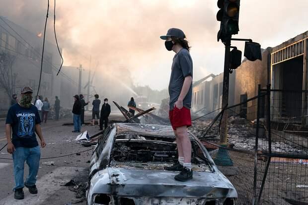 Беспорядки в Джорджии потребовали вмешательства Национальной гвардии США