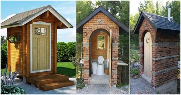 Когда дачный туалет центральный элементом в ландшафтном дизайне
