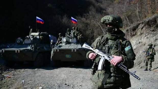 Российские миротворцы нашли в Гадрутском района тела армянских военных