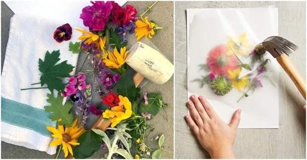 Невероятно красивая идея использования самых любимых вами цветов