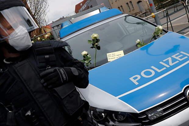 Немецкая полиция начала спецоперацию из-за угроз в адрес синагоги
