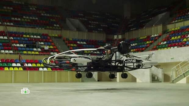 Летающие мотоциклы, живой робот и мобильная баня: российские технологии покоряют мир