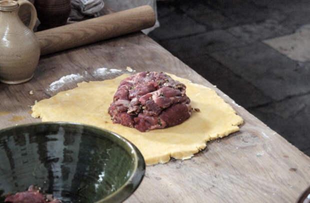 Пирог короля: рецепт из средневекового замка