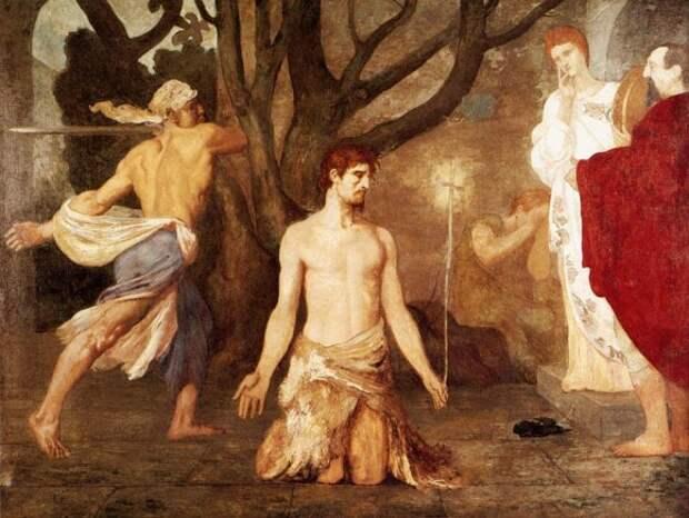 Пьер Сесиль Пюви де Шаванн. Усекновение главы Иоанна Предтечи. 1869