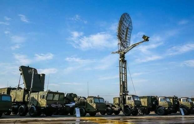 В Сирии замечена новейшая российская РЛС «Каста-2Е2»