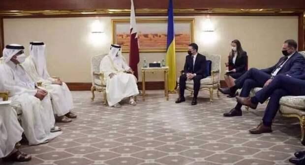 Украинцы в Катаре грубо нарушили правила этикета
