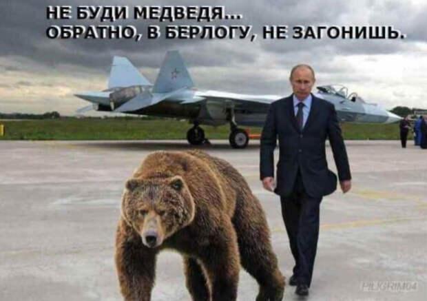 Как Вашингтон русского медведя разбудил